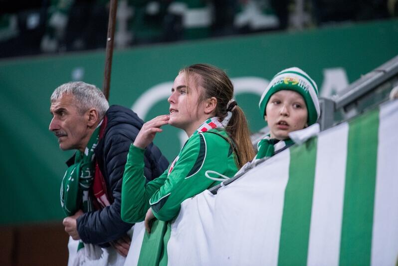 Dla kibiców biało-zielonych mamy bezpłatne bilety na mecz z Zagłębiem Lubin