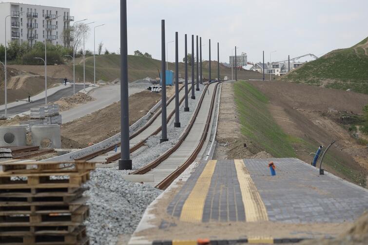 Nowa ulica i torowisko będą liczyć 2,7 km długości