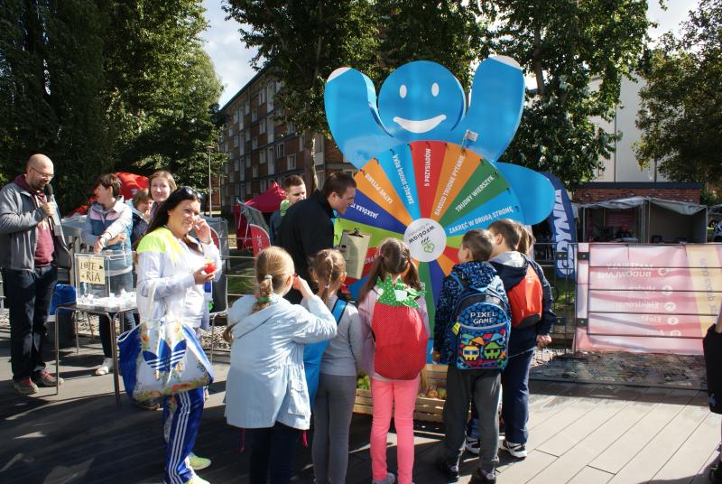 Pomorski piknik energetyczny w czerwcy 2018 roku, którego współorganizatorem był WFOŚiGW w Gdańsku