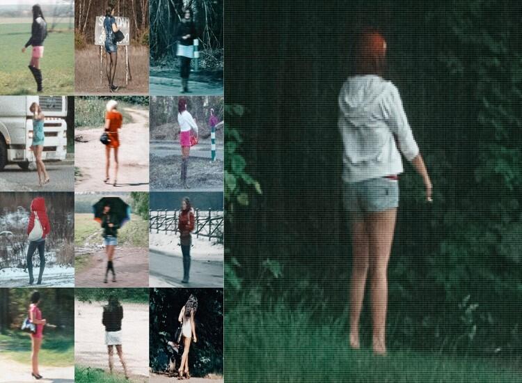 Zdjęcie z serii Pikselowe prostytutki