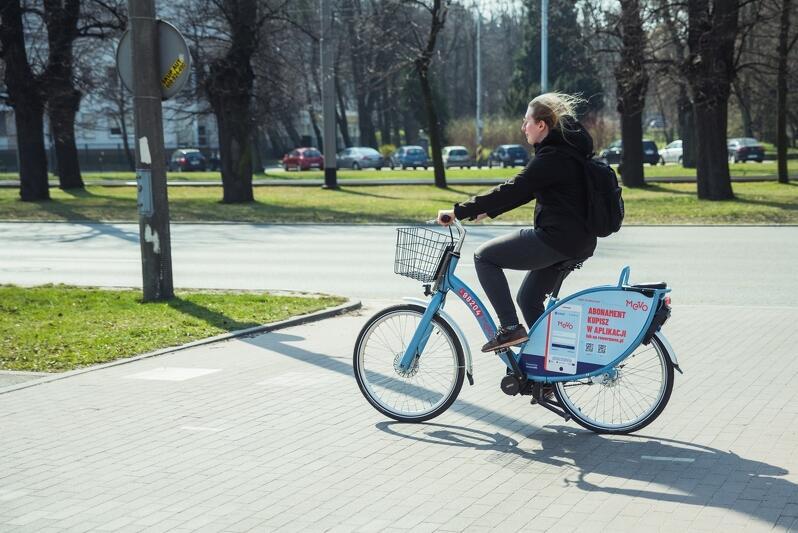 Rowery Mevo od początku maja wypożyczane są od ponad 7 do 10 tys. razy na dobę