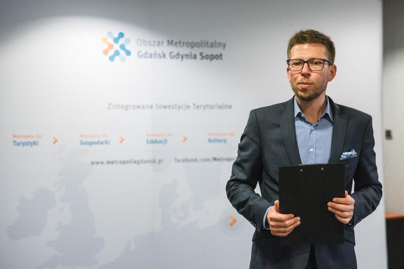 Michał Glaser dyrektor biura Obszaru Metropolitalnego Gdańsk-Gdynia-Sopot