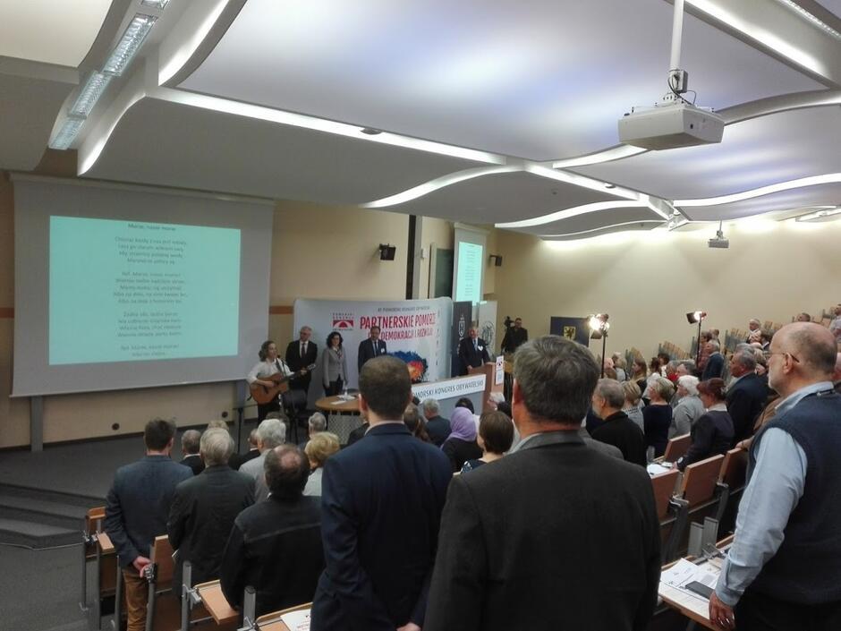 Na Uniwersytecie Gdańskim trwa XI Pomorski Kongres Obywatelski