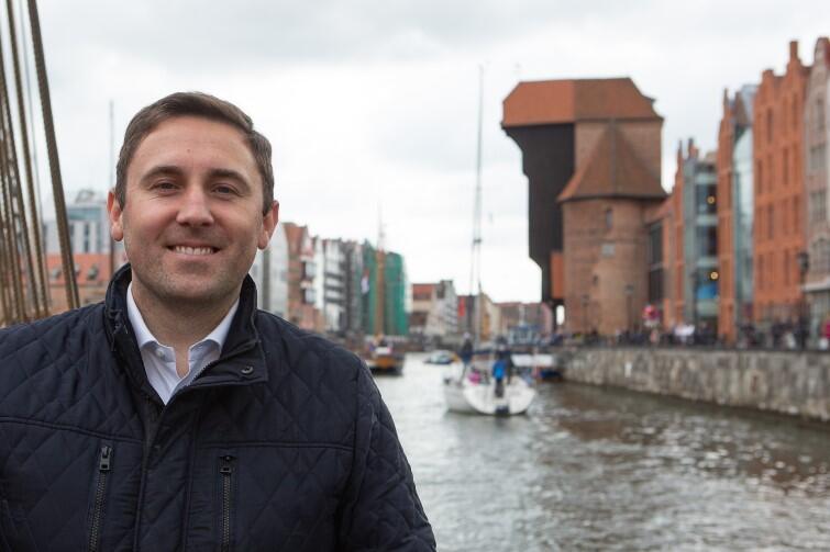 Piotr Borawski, zastępca prezydenta Gdańska: - Sezon żeglarski uważam za otwarty!