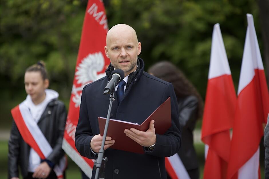 W trakcie niedzielnej uroczystości przemawiał m.in. wiceprezydent Alan Aleksandrowicz