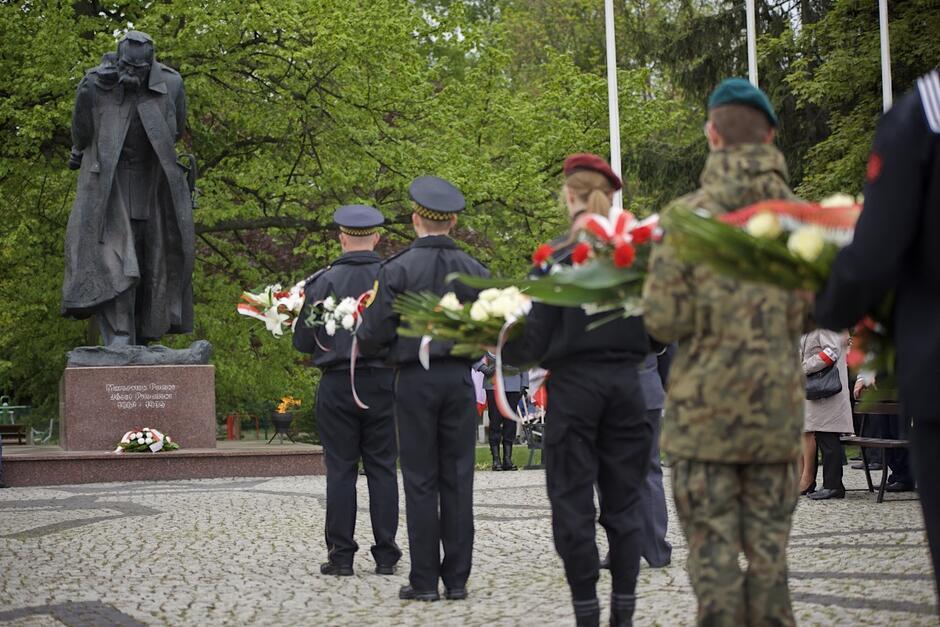 W niedzielę odbyła się uroczystość z okazji 84 rocznicy śmierci marszałka Piłsudskiego