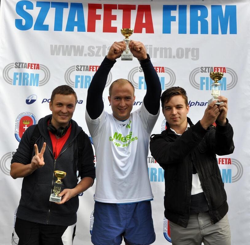 Pierwsza edycja Sztafety Firm odbyła się w 2014 roku