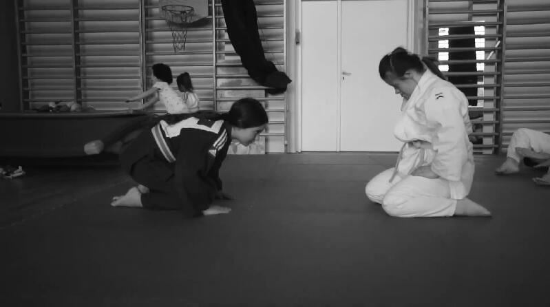 Kadr z filmu `Łączy nas sport