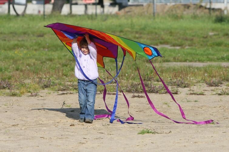 Wielkie emocje - czy poleci? 1 czerwca 2019 znów niebo nad Wyspą Sobieszewską zasnuje się latawcami. Tym razem tematem festiwalu jest kosmos
