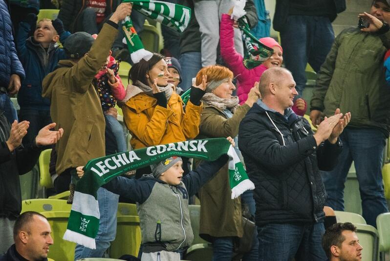 Kibice Lechii na meczach z Jagiellonią mogli być zadowoleni, Lechia w tym sezonie zawsze wygrywała