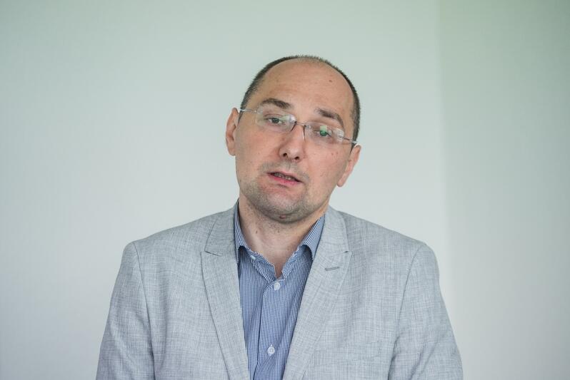 Marcin Podlecki przedstawiciel spółki Immo Park