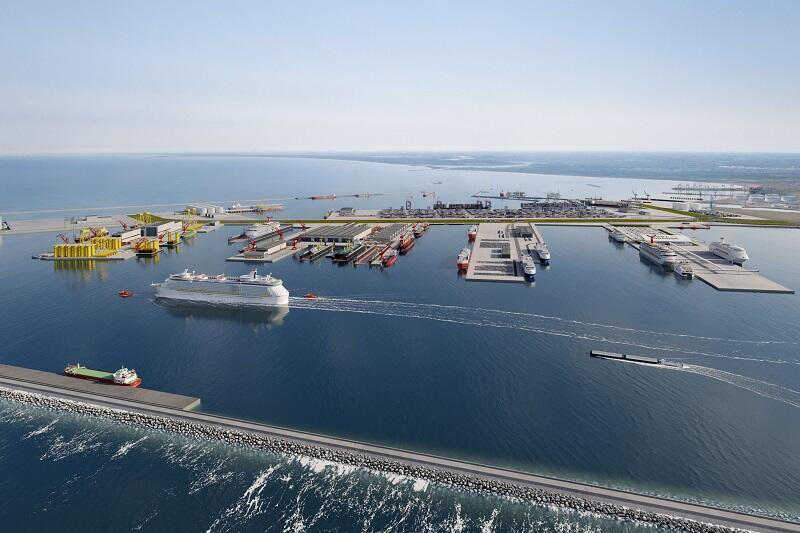 Zarząd Morskiego Portu Gdańsk zbuduje w Porcie Centralnym 19 km nabrzeży eksploatacyjnych oraz 8,5 km falochronów