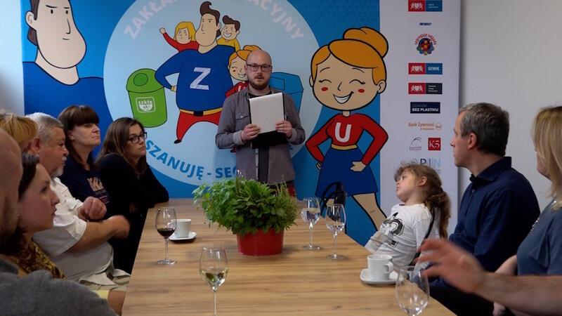 - Polska jest piętym krajem w Europie, gdzie marnuje się najwięcej żywności - mówił Łukasz Jaroń z Banku Żywności w Trójmieście