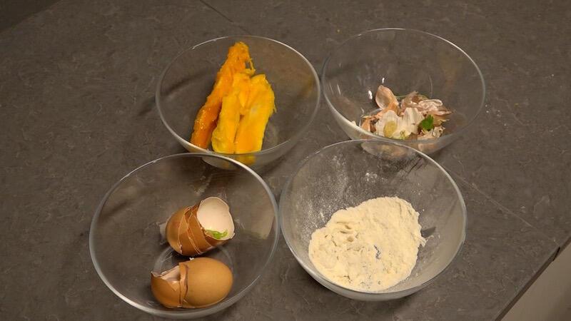 Oto co zostało z suto zastawionego produktami blatu kuchennego. Umiecie tak gotować? :)