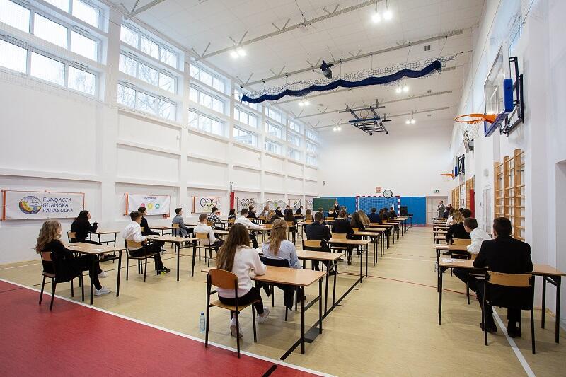 Szkoła Podstawowa nr 35 w Gdańsku, ostatni w historii, tegoroczny egzamin gimnazjalny