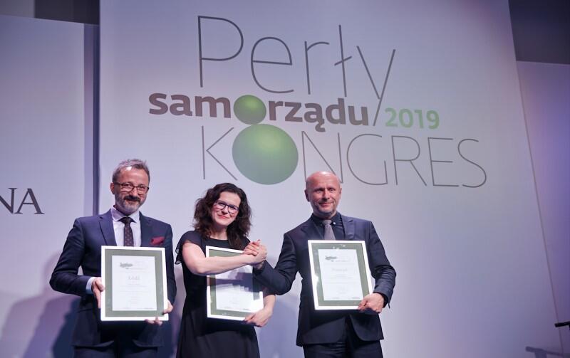 Nagrodę za drugie miejsce Gdańska w rankingu Perły Samorządu odebrała Aleksandra Dulkiewicz, prezydent Gdańska. Nasze miasto wyprzedził w rankingu Poznań, na trzecim miejscu uplasowała się Łódź