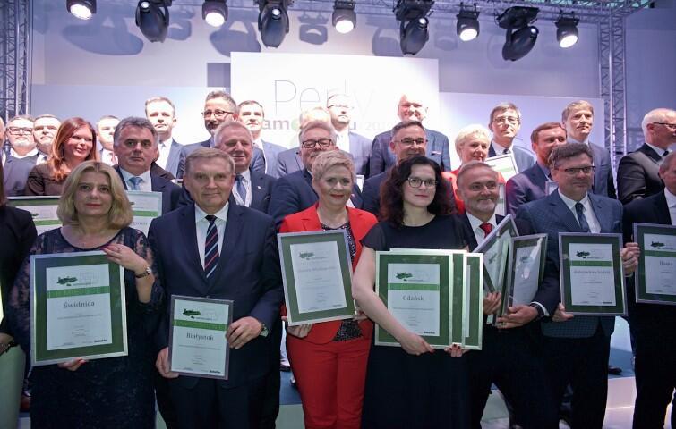 Włodarze najlepszych gmin w Polsce z nagrodami na gali Dziennika Gazeta Prawna