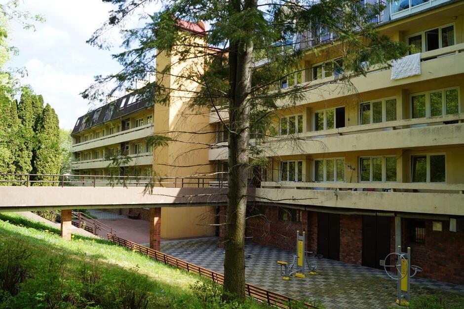 Tak wyglądał budynek DPS w Oliwie przed modernizacją