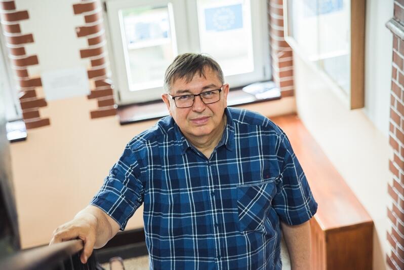 Romuald Cichocki: - Chcę, żeby była to szkoła dla wszystkich, ale nie wszyscy nauczyciele zgadzają się z moją filozofią