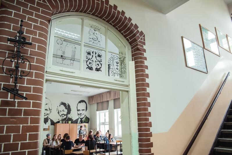Siedziba VIII LO, o dwa lata starsza od siedziby gdańskiej Jedynki ma niepowtarzalny klimat