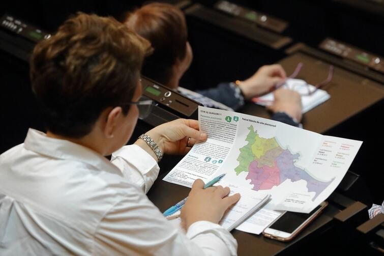 Obecni mogli się dowiedzieć m.in. tego, jak planiści dzielą miasto i na co zwracają uwagę przy opracowywaniu planów
