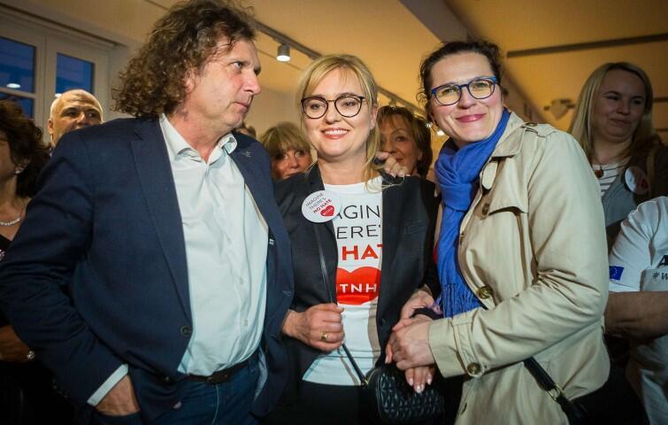 Magdalena Adamowicz z Koalicji Obywatelskiej uzyskała bardzo wysoki wynik 200 tys. głosów. To siódmy wynik na liście KE