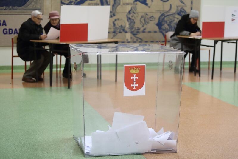 Ilu mieszkańców Gdańska poszło do urn wyborczych w poszczególnych dzielnicach?