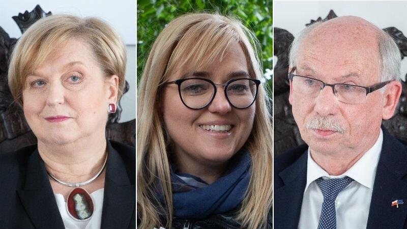 Trójka z województwa pomorskiego w Parlamencie Europejskim: Anna Fotyga, Magdalena Adamowicz, Janusz Lewandowski