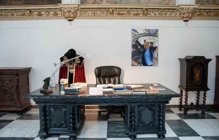 Biurko prezydenta Gdańska