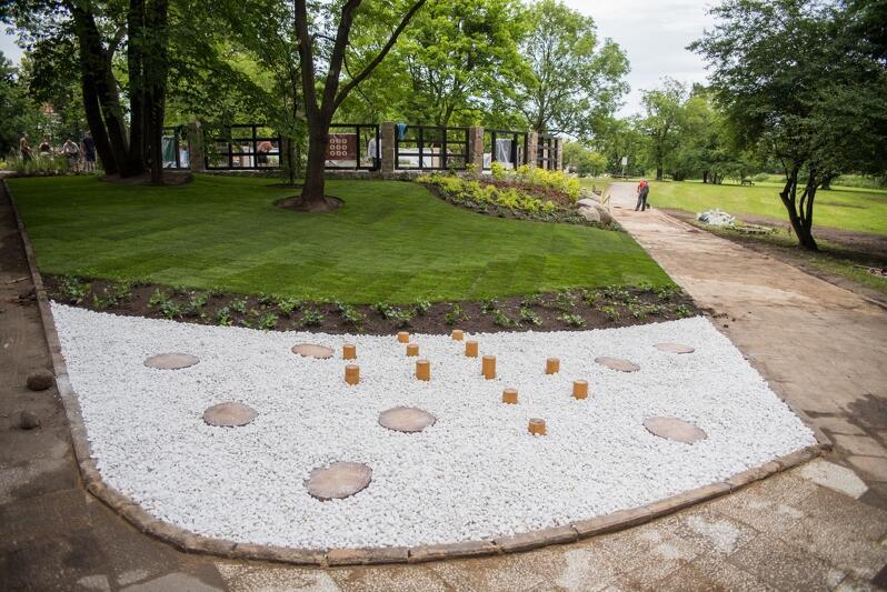 Pierwszy ogród sensoryczny w Gdańsku powstał w 2017 r w pobliżu Stawu Młyńskiego