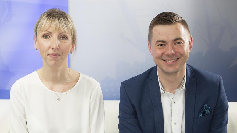 Gośćmi programu Wszystkie Strony Miasta  na gdansk.pl byli Katarzyna Tynkowska i Arkadiusz Kulewicz z Gdańskiego Centrum Świadczeń