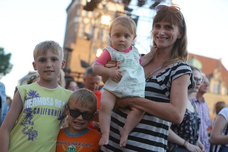 Podczas ubiegłorocznego koncertu Gdańsk Dzieciom na Targu Węglowym