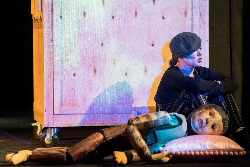 Próba medialna Pinokia w Miejskim Teatrze Miniatura