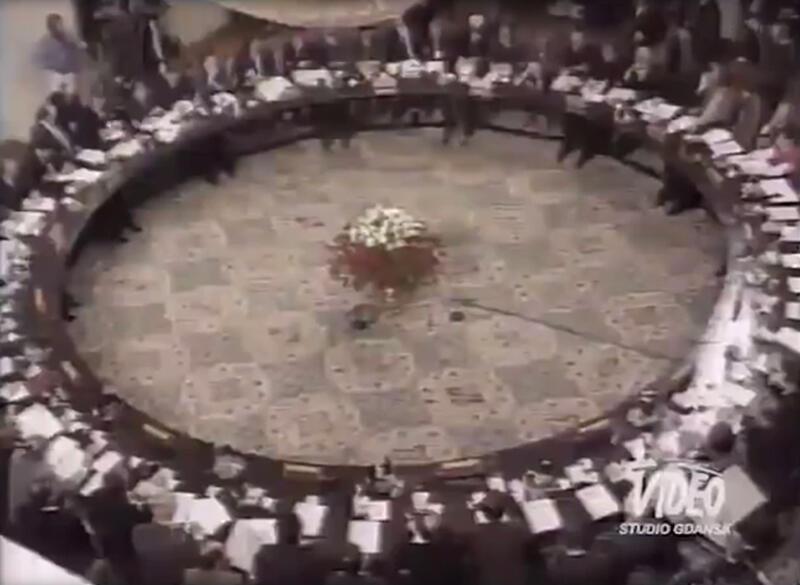 Okrągły stół podczas obrad 1989 roku