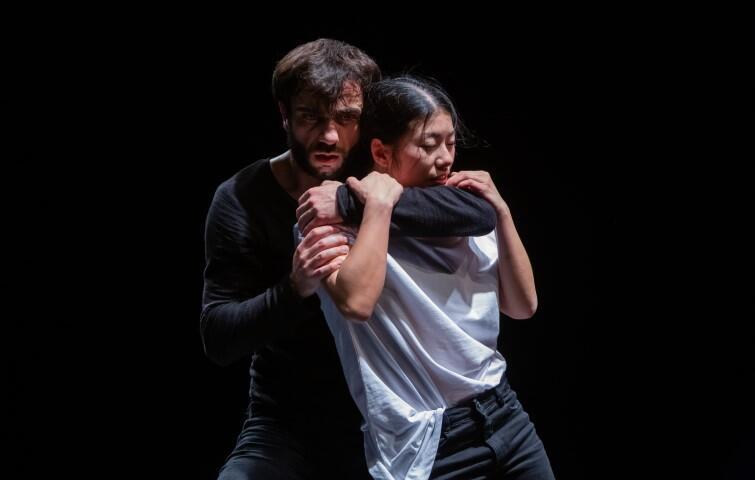 Karuzeja to najnowszy projekt tancerzy z Opery Bałtyckiej. Na zdjęciu Sayaka Haruna-Kondracka i Roberto Tallarigo