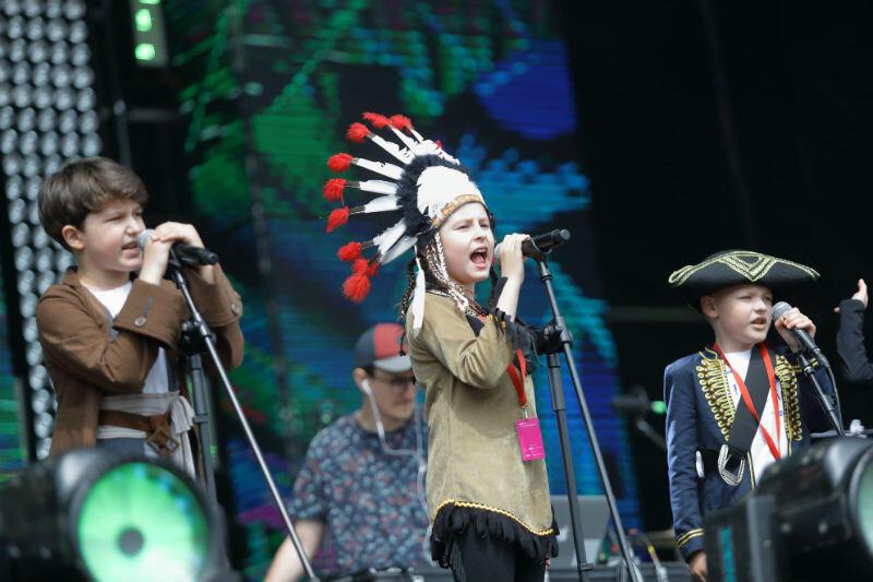 Koncert dedykowany dzieciom odbył się na Placu Zebrań Ludowych