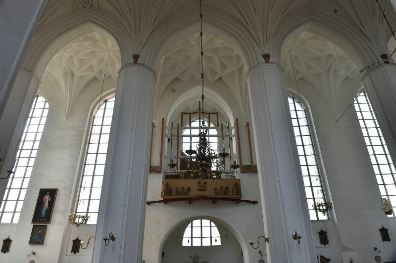 Wnętrze kościoła Piotra i Pawła prawdopodobnie nie zostało naruszone