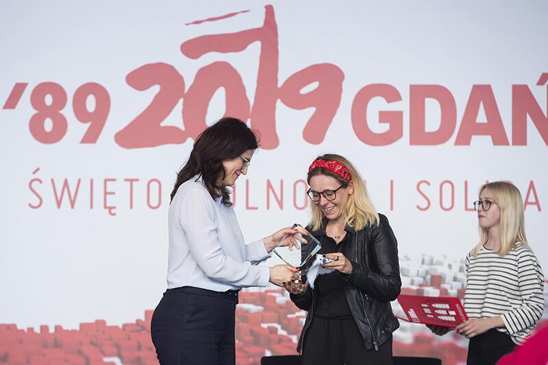nagroda Gdański Społecznik Roku dla Agnieszki Buczyńskiej