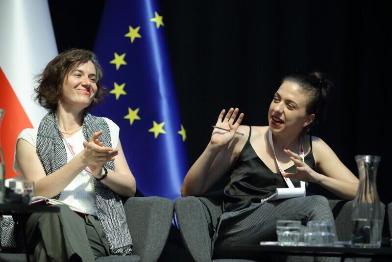 Od lewej: Karolina Wigura, Kaja Puto