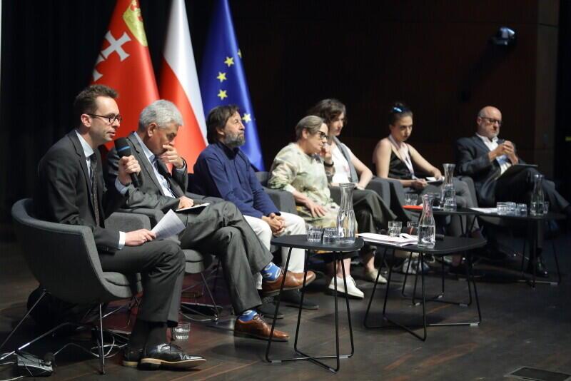 """Debata """"Demokracja obywateli - jak o nią dbać?"""" odbyła się w  ramach Międzynarodowego Forum Obywatelskiego w ECS, 3 czerwca 2019 r"""