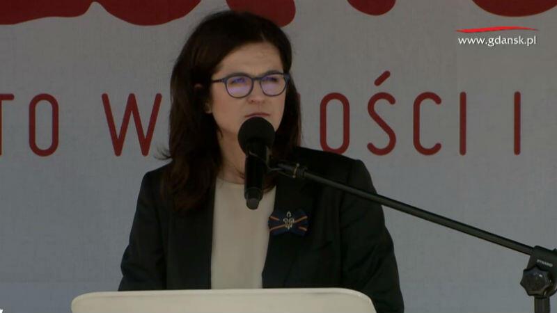 Przemówienie Aleksandry Dulkiewicz