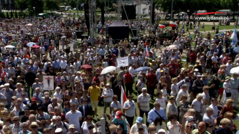 Tłum przed ECS