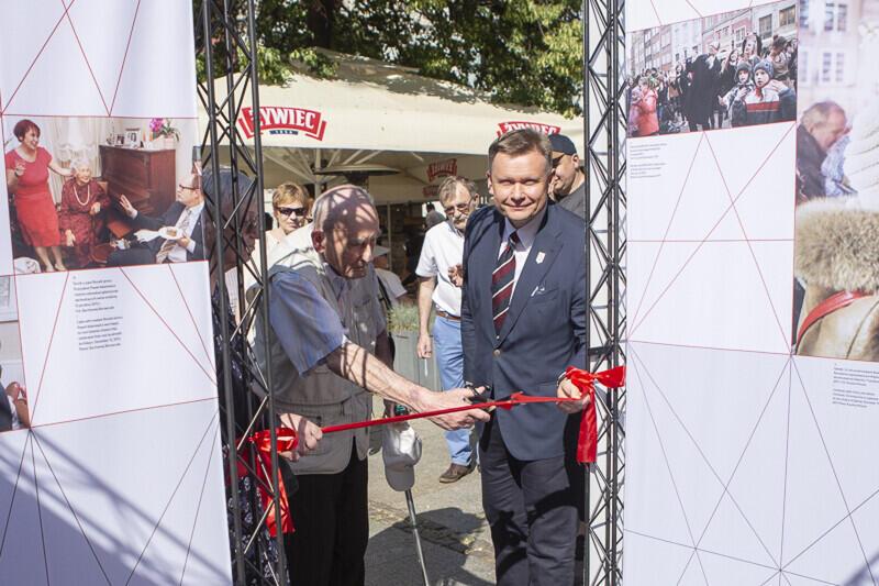 Wstęgę podczas uroczystego otwarcia 4 czerwca przecięli rodzice Pawła Adamowicza, Ryszard i Teresa Adamowicz