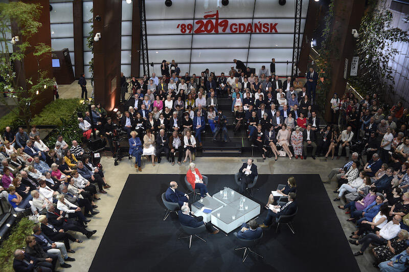 2 czerwca w ECS odbyła się debata o wolności transmitowana na antenie TVN24. Debatę prowadzili Katarzyna Kolenda Zaleska i Jacek Stawiski