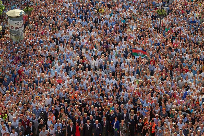 Rodzinne Zdjęcie Polaków Gdańsk 4 czerwca 2019