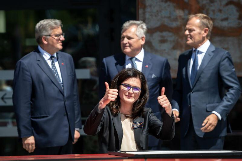 Gdańską Deklarację Wolności i Solidarności podpisała Aleksandra Dulkiewicz, prezydent Gdańska