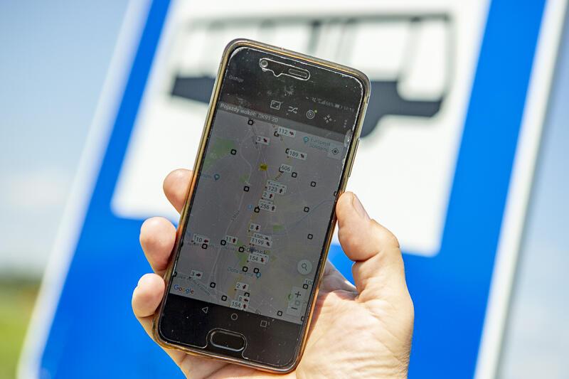 Dzięki udostępnieniu danych o pozycji GPS pojazdów komunikacji miejskiej, wiemy kiedy przyjedzie nasz autobus czy tramwaj