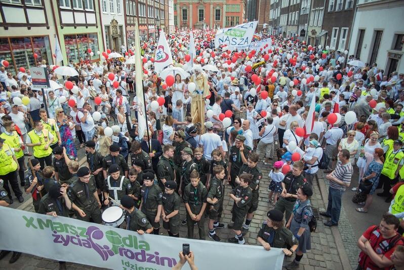 X Marsz dla Życia i Rodziny w Gdańsku