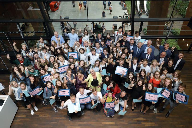 W konkursie Weź zagłosuj  rywalizowało 137 młodych ludzi z różnych miejscowości Obszaru Metropolitalnego G-G-S