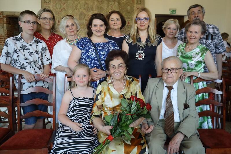 32. pary świętowały jubileusz pożycia małżeńskiego w Ratuszu Głównego Miasta